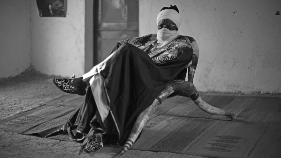 Alhadji Isse Tize, Lamido of Mogode, Cameroon. He is part of the Kapsiki ethnic group in the Far North Province in the Mandara mountains.