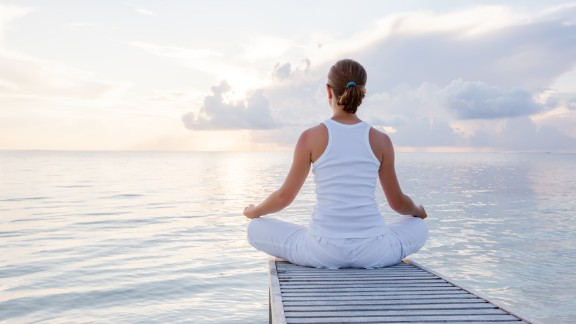 Relaxation training is really helpful, say experts.  You can try muscle relaxation, even sleep imagery, such as imagining yourself in a safe place that is quiet and calm.