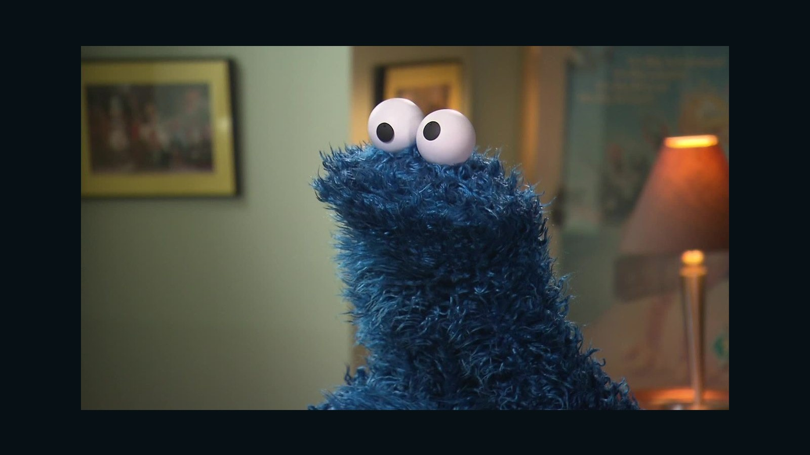 Cookie Monster Cnn Is That Cookie Nom Nom Cnn Video