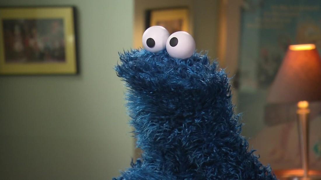 Sesame Street Food Cookie Monster