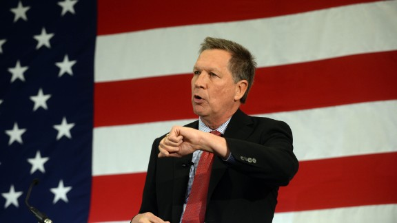"Ohio Gov. John Kasich joined the Republican field July 21 as he formally announced his White House bid.  ""I am here to ask you for your prayers, for your support ... because I have decided to run for president of the United States,"" Kasich told his kickoff rally at the Ohio State University."