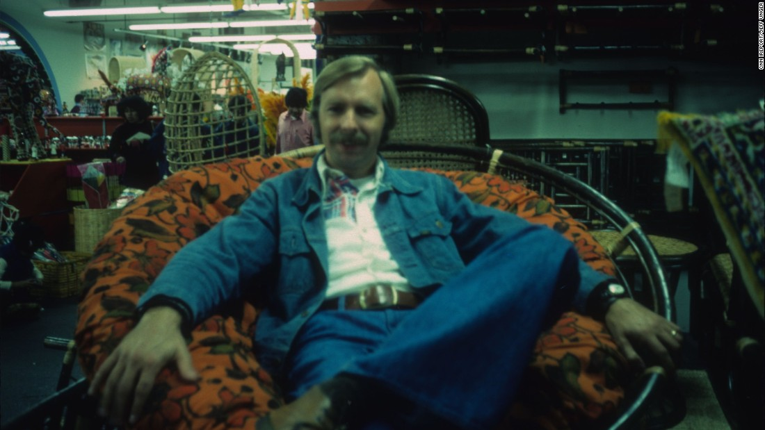 "One mustn't forget 1970s furniture along with the fashion, as demonstrated here in 1975 Seattle by <a href=""http://ireport.cnn.com/docs/DOC-1228469"">Jeff Unger's</a> father."