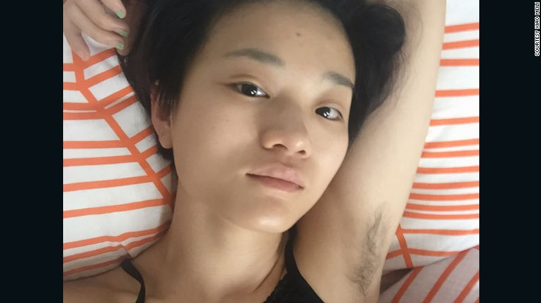 Asian Teen With Hairy