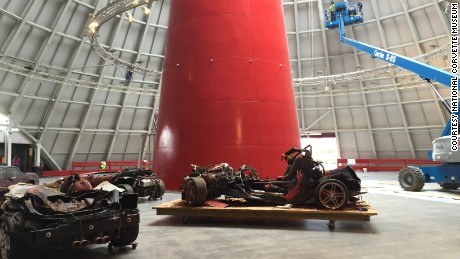 The National Corvette Museum in Bowling Green, Kentucky, is nearly finished repairing its Skydome which was severely damaged by a sinkhole in 2014. Eight valuable Corvettes fell into the hole. Three of them were salvageable.