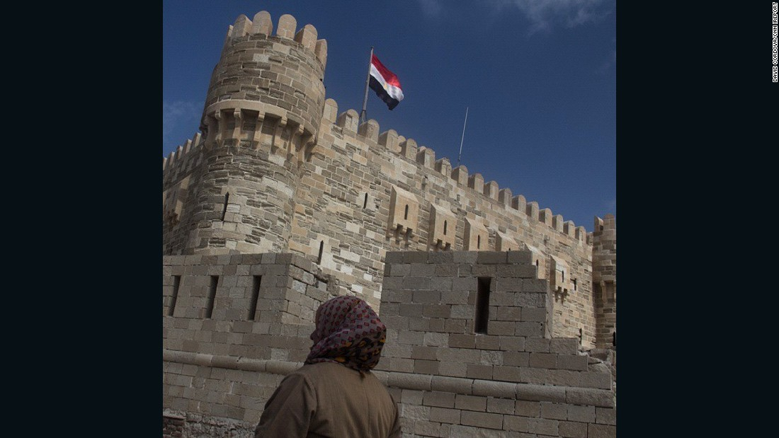 "<strong>The architecture: </strong>Mexican photographer <a href=""http://ireport.cnn.com/docs/DOC-1247704"">David Cordova </a>captured this image of the 15th Century Qaitbay citadel in Alexandria."