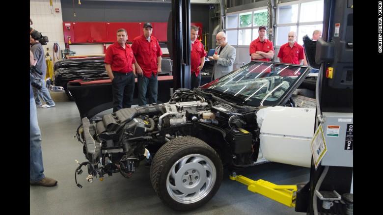 Valuable '1 Millionth Corvette' restored after sinkhole - CNN Style