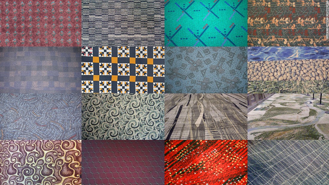 The nylon wonderland of Carpets for Airports   CNN Travel