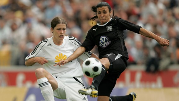 She enjoyed the most prolific period of her club career during a four-year spell at Swedish club Umea IK between 2004-2008, scoring an incredible 111 goals in 103 games.
