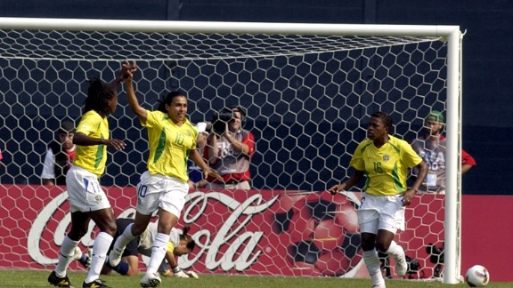 The 29-year-old scored her first World Cup goal 12 years ago, also a penalty against South Korea.