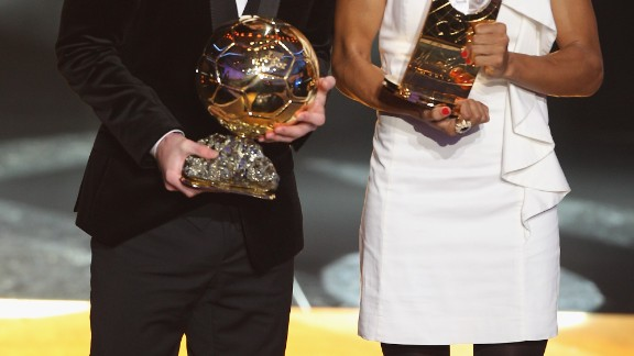 The Brazilian has won five World Player of the Year awards. Her last one came in 2010 when she was presented with the trophy alongside Lionel Messi.