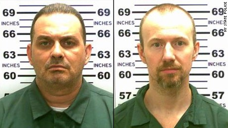 Did escaped killers get tools hidden in hamburger meat?
