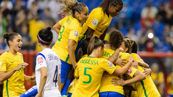 Marta's penalty against South Korea on Tuesday took her tally to 15 World Cup goals -- an all-time record.