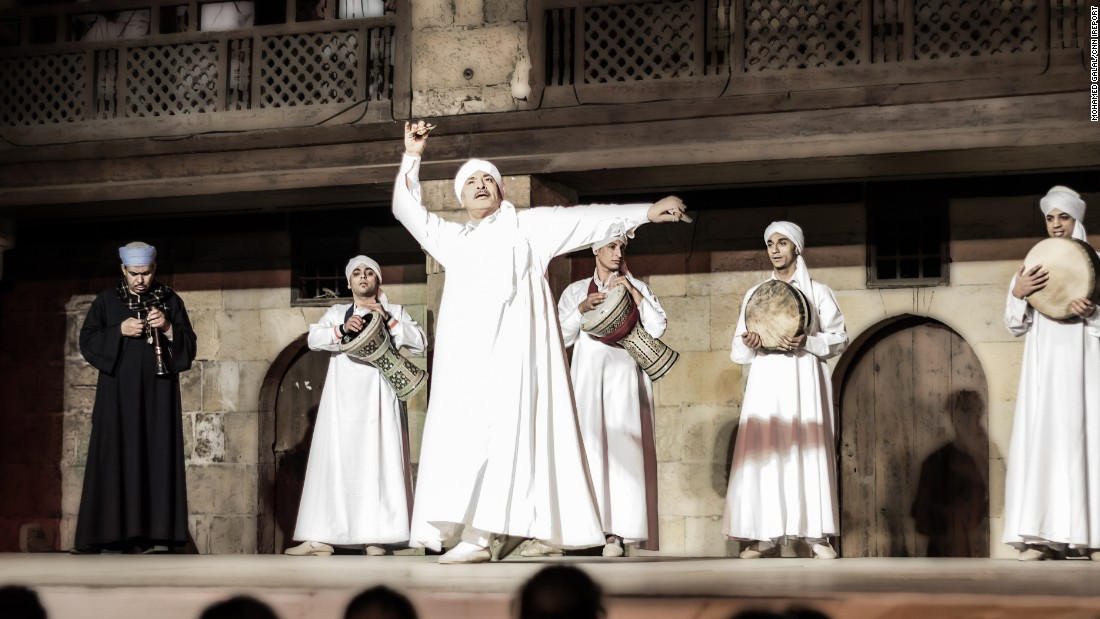 "<strong>The arts: <a href=""http://ireport.cnn.com/docs/DOC-1247874""></strong>Mohamed Galal</a> shared a photo of the Tanoura show, a performance involving traditional Egyptian dance and music."