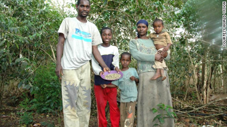 Fair-trading practices have improved living standards for Dukale's family. The oldest son, Elias, is on track to be the first in the family to graduate from high school.