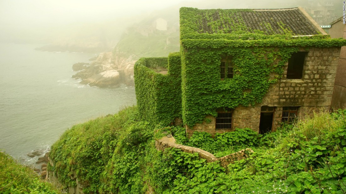 The Shengsi Islands are a collection of nearly 400 islands. One major city within several hours of the islands is Shanghai, China.  On Shengshan Island there is an abandoned village.