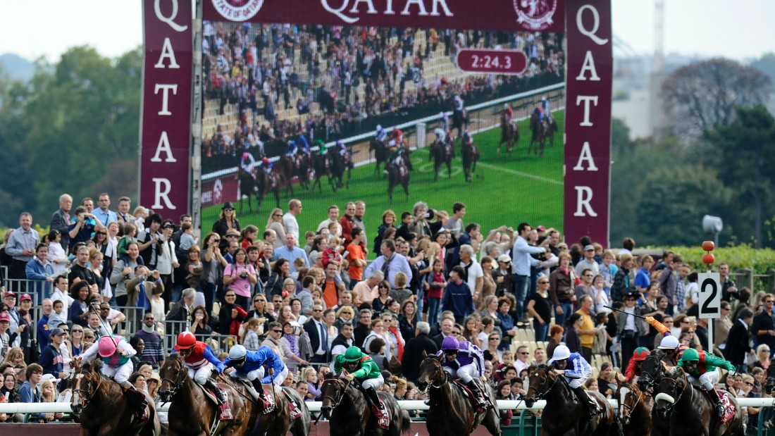The oil-rich nation has increased its horse racing sponsorship in recent years. In 2008 Qatar became the sponsor of Europe's richest race -- the Prix de l'Arc de Triomphe, held every October at Paris' Longchamp racecourse.