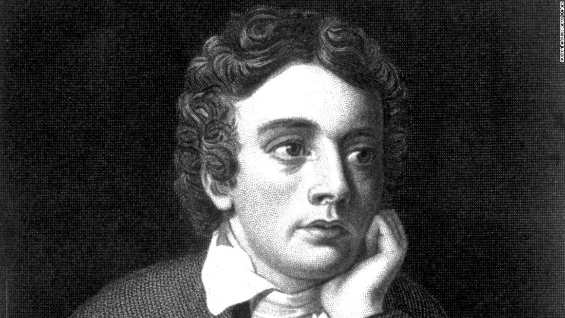 "<strong>John Keats</strong> (1795-1821) was an English romantic poet whose reputation has far outlasted his brief life. He is most admired for his series of odes, most notably ""Ode on a Grecian Urn,"" with its famous final lines: ""Beauty is truth, truth beauty -- that is all / ye know on earth, and all ye need to know."""