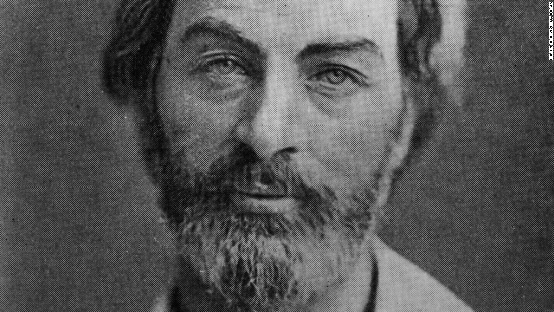 "<strong>Walt Whitman</strong> (1819-91), often called the father of free verse, was one of the most influential American poets. His landmark collection ""Leaves of Grass"" was considered obscene by some at the time for its overt sexuality. And that ""O Captain! My Captain!"" line from the end of ""Dead Poets Society""? It's Whitman's."
