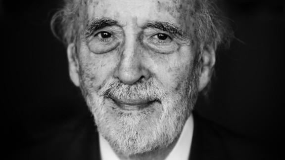 "Christopher Lee, the British actor who mastered horror and Dracula roles before his turns as a Bond villain and the wizard Saruman in the ""Lord of the Rings"" trilogy, died June 7, a London borough spokesman said. He was 93."