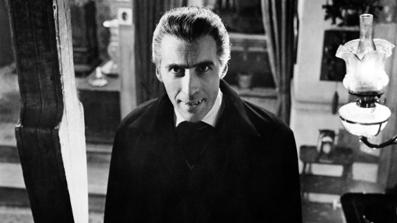"""In 1958, Lee first plays the vampire Count Dracula in """"Horror of Dracula."""""""