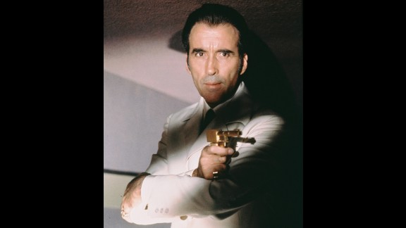 """In 1974, Lee takes on the role of Bond villain Francisco Scaramanga in """"The Man With the Golden Gun."""""""