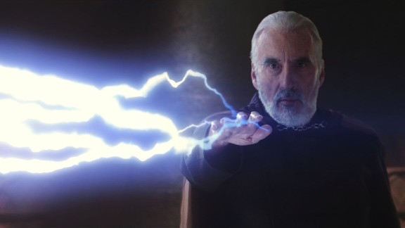 """In 2002, Lee plays Count Dooku, also known as Darth Tyranus, in """"Star Wars Episode II: Attack of the Clones."""""""