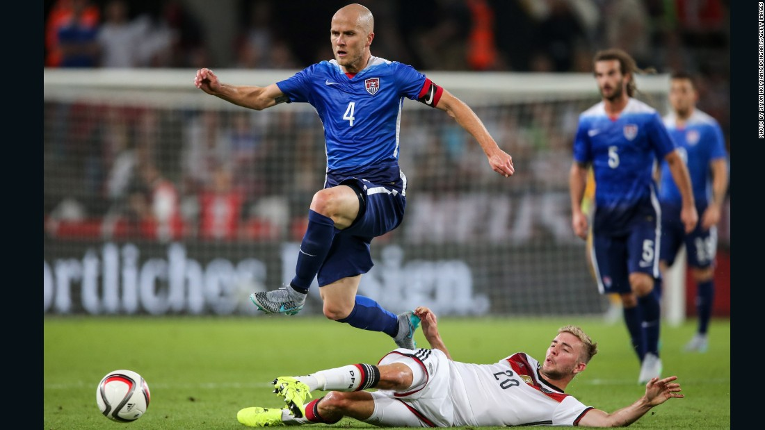 Michael Bradley was one of few recognized names in the U.S. lineup for the match against the Germans, but the inexperience mattered little.