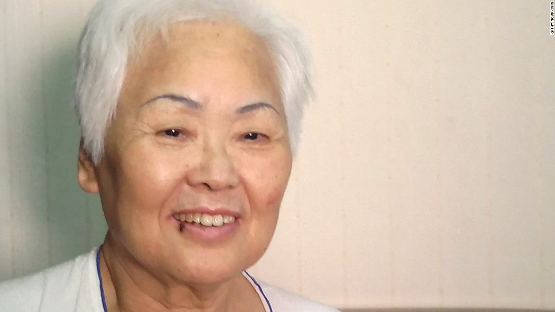 Kim Bok-soon, a 77-year-old survived MERS and described coughing and feeling cold when she had the illness. She was cleared to leave a hospital in Seoul, South Korea.