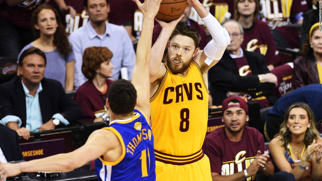 Australian guard Dellavedova of the Cleveland Cavaliers has been a disruptive force on the offensive and defensive ends of the floor during the 2015 NBA Finals.