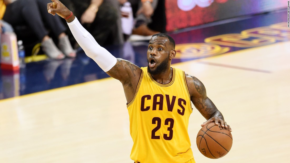 LeBron James has had to lift his game, in the absence of injured Kyrie Irving and Kevin Love, scoring a record 123 points in the first three games of the 2015 NBA Finals.