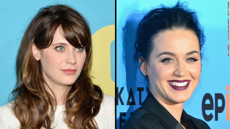 Zooey Deschanel channels Katy Perry in new music video