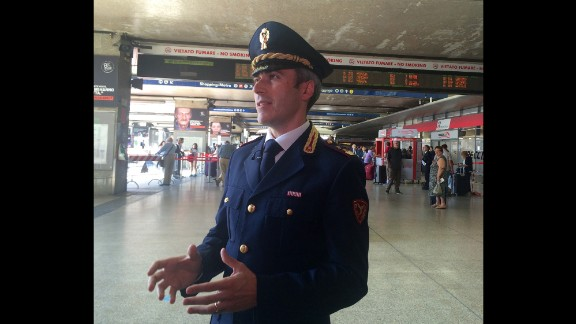Some Egyptian children end up in Rome selling drugs at places like the Termini station. Emanuele Fattori, head of the railway police at the station, told CNN that he and his team have seen evidence of children being used by criminal gangs.