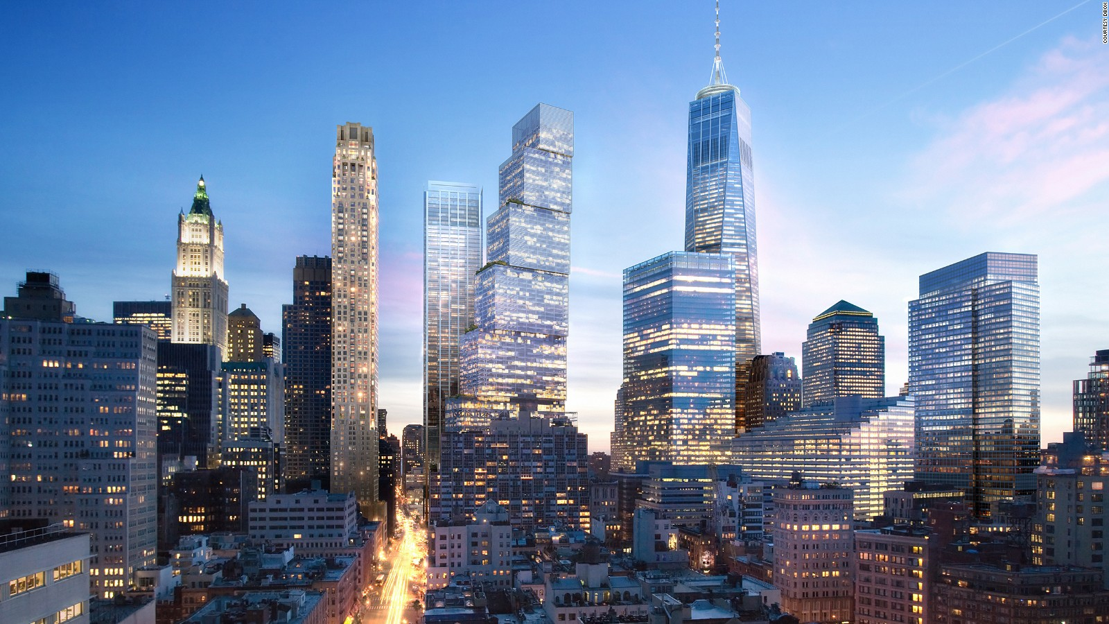 New World Trade Center Tower Unveiled Cnn Style
