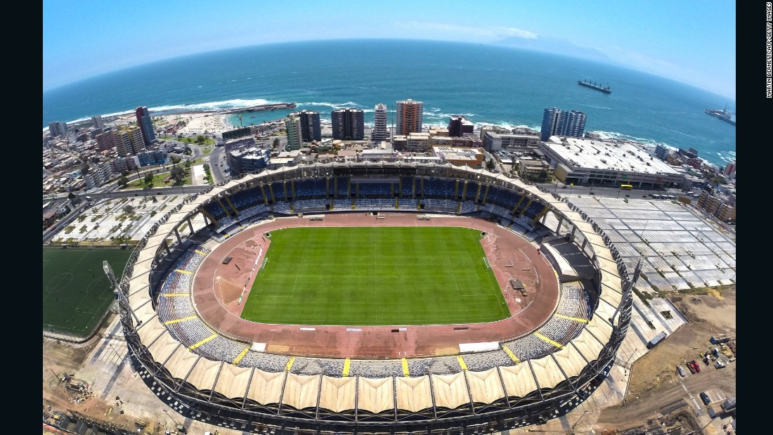 The city of Antofagasta lies 685 miles north of Santiago, situated in the wealthiest area of Chile. It generates the majority of its money through mining and is developing rapidly. On one side of the city's stadium -- Estadio Regional de Antofagasta -- lies the sea...