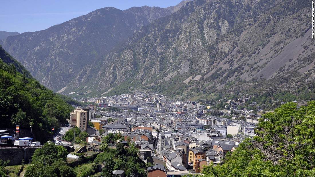 Diet and outdoor lifestyle in Andorra help to keep the country's elderly  population healthy.