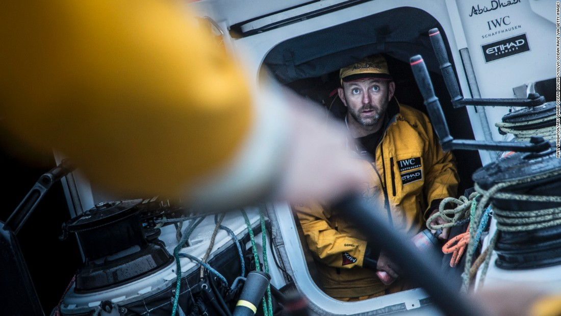 """Winning this race is the pinnacle of my sailing career,"" says skipper Walker of his victory in the Volvo Ocean Race. ""Not bad for someone whose parents didn't sail."""