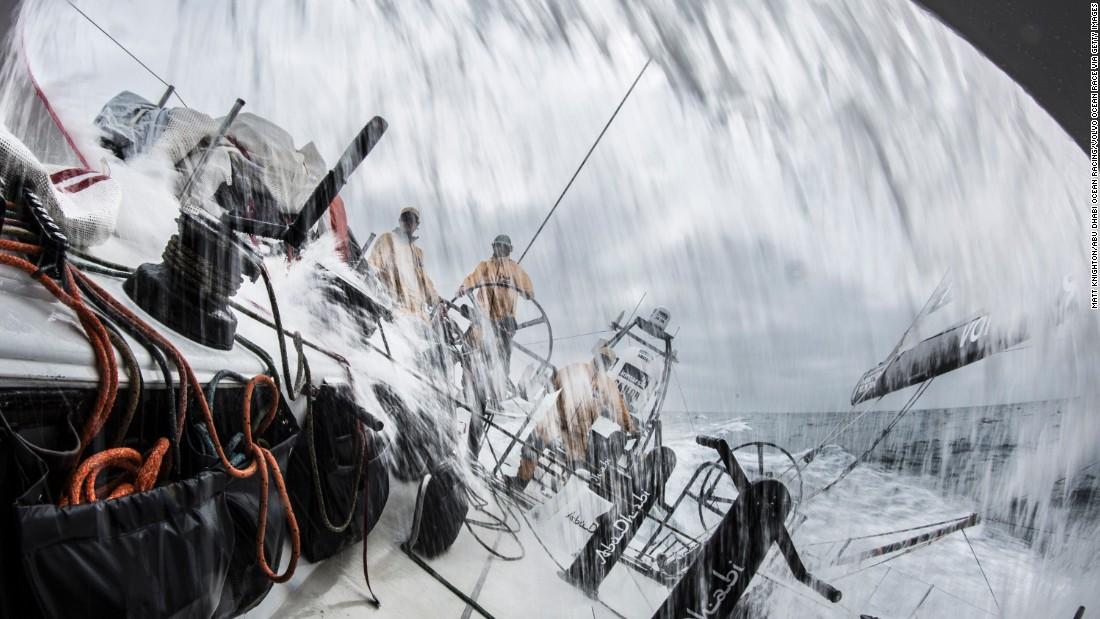 """The Volvo Ocean Race is a tough, long race that is very hard to win and easy to lose,"" says Walker after leading his team to an unassailable lead."