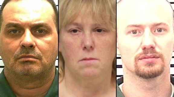 Prisoners Richard Matt and David Sweat, and prison worker Joyce Mitchell
