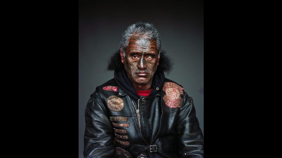 These haunting portraits by photographer Jono Rotman offer a close look at the largest gang in New Zealand, the Mongrel Mob.  After coordinating with a gang liaison, Rotman met mob members and gained unprecedented access to them. He took these portraits inside their homes from 2008 to 2014.