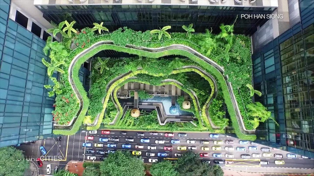 Green Sustainable Architecture And Landscape Design