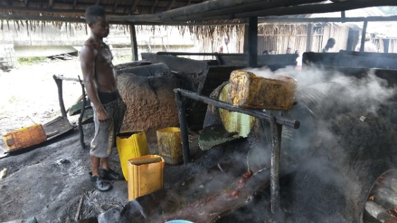 """Nigerian """"local gin"""" is made at makeshift distilleries. It remains popular, despite a spate of mass deaths from drinking poisoned local gin."""