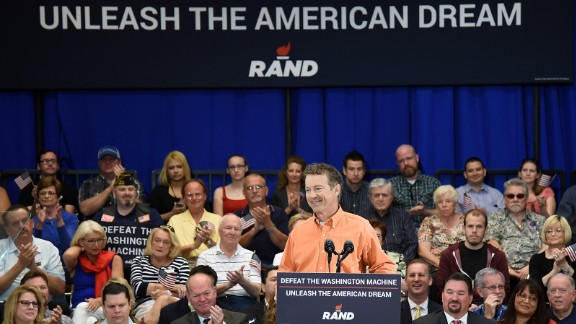 U.S. Sen. Rand Paul, R-Kentucky, who has dropped out of the presidential race.