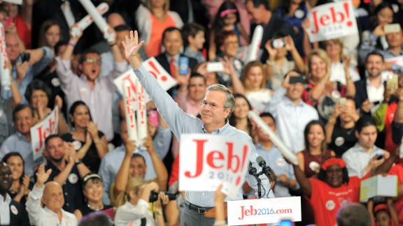 Former Gov. Jeb Bush, R-Florida