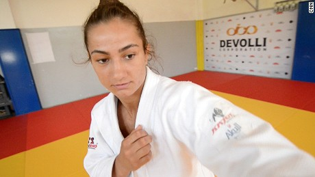 Judo champ's fight for recognition