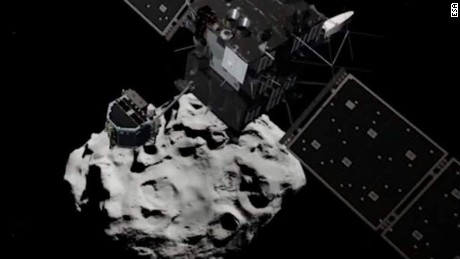 Philae Lander regains power on comet