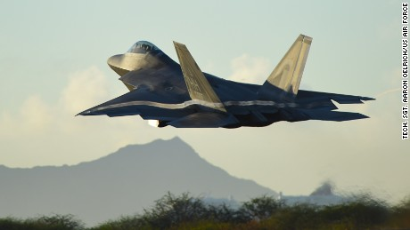 The U.S. Air Force's high-speed stealth fighter