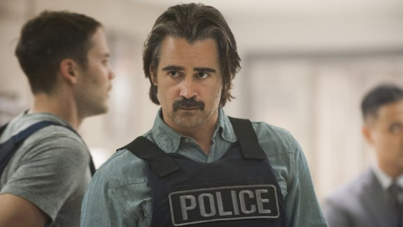 """Starting a new season (with new characters): HBO's """"True Detective,"""" which moves to a California city and pries back its dark secrets. The show stars Colin Farrell (above), Rachel McAdams and Taylor Kitsch as cops, with Vince Vaughn as a mobster. It premieres June 21."""
