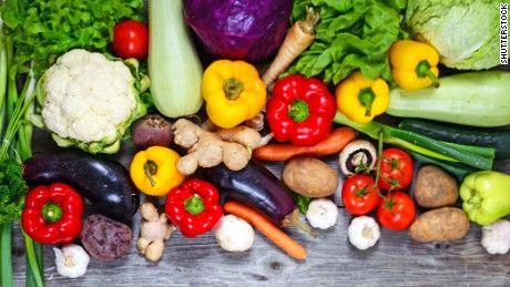 Eat more fruit and veg for a longer life, researchers say