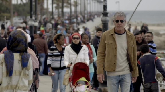 Anthony Bourdain loved Beirut so much, he considered naming his daughter after the city.