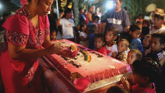 The kemem, or first birthday party, is an important rite of passage in the Marshall Islands. These celebrations often are larger than weddings, and hundreds can attend.